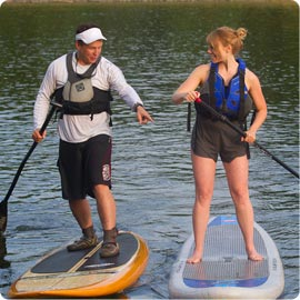 Private stand up paddle lessons instruction in Washington DC VA MD